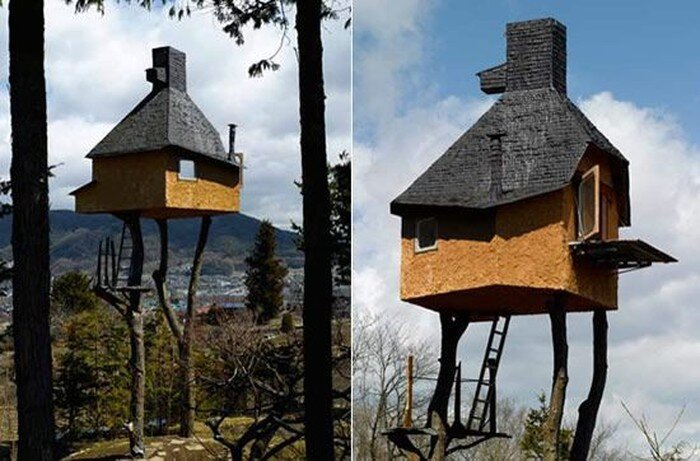 Архитектурные эксперименты Terunobu Fujimori (15 фото)