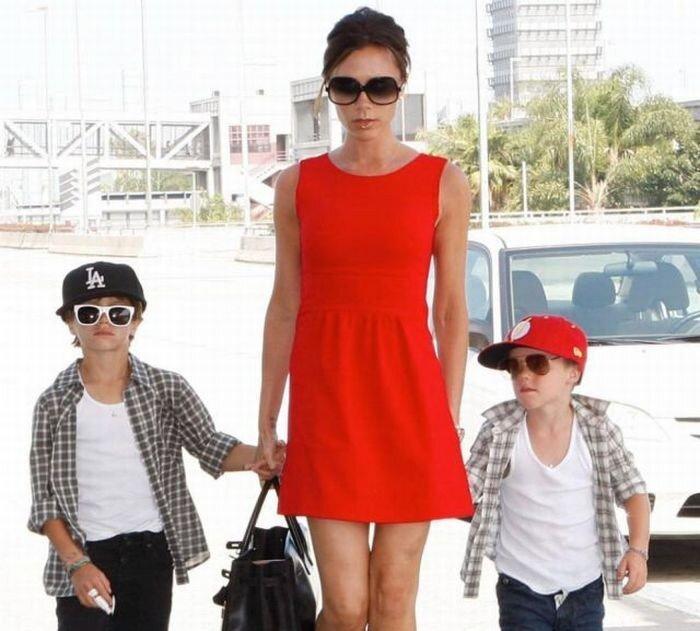 Известные родители и их дети (15 фото)