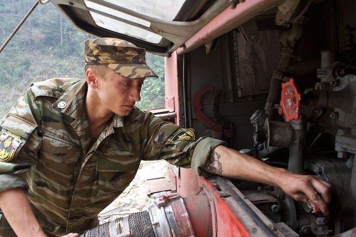 Отряд московских пожарных (18 фото)