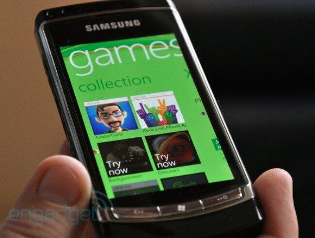 Xbox LIVE для Windows Phone 7 - демонстрация первых игр (16 фото + 2 видео)