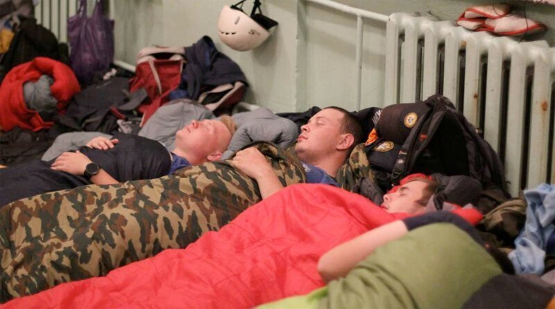 Один день из жизни спасателей в Тулуне