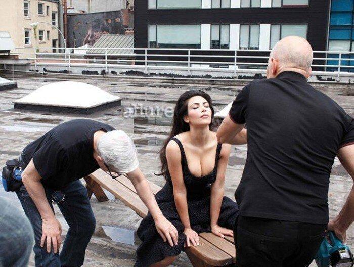 Ким Кардашьян для Аллюр (9 фото)