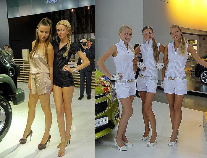 Всесторонний обзор Московского международного автосалона 2010 (50 фото)