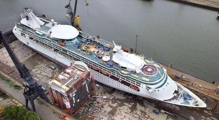 Уроки по удлинению кораблей (4 фото)