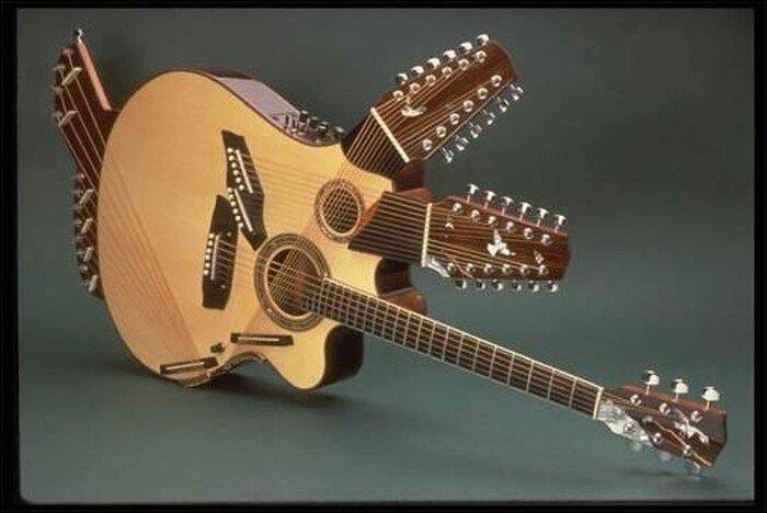 Необычные гитары (35 фото)