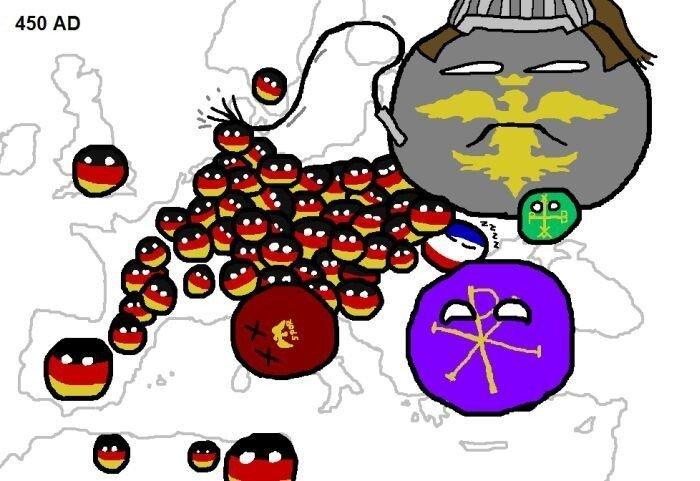 Карта европейских войн (14 фото)