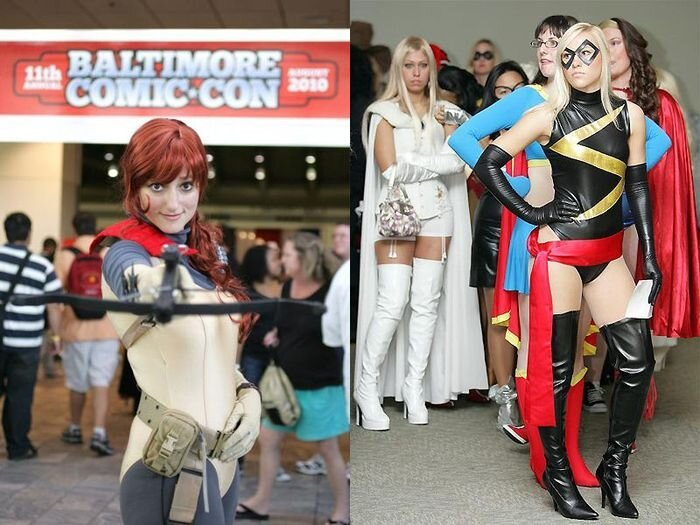 Фестиваль Comic Con в Балтиморе (20 фото)