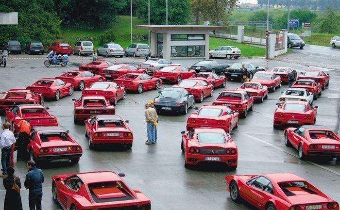 Подборка суперкаров с улиц всего мира (99 фото)