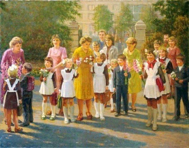 Сегодня в школу: ностальжи по СССР (45 фото)