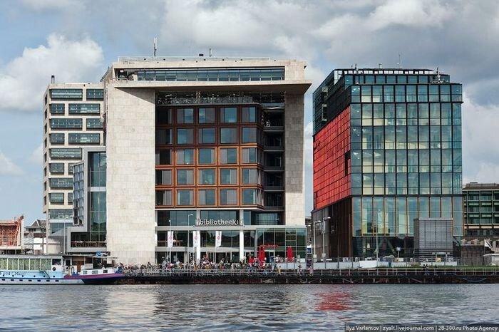 Публичная библиотека Амстердама (57 фото+текст)