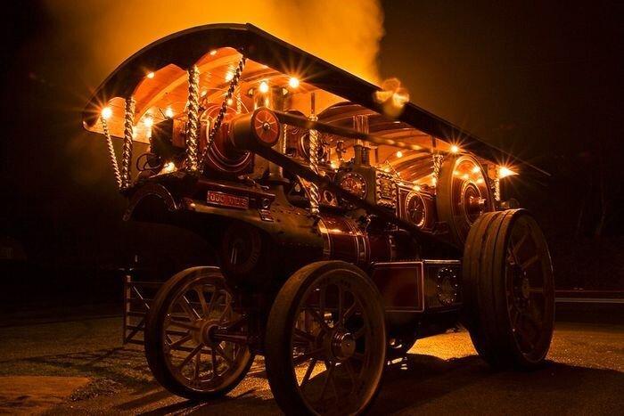 Выставка паровых машин – Great Dorset Steam Fair (24 фото)