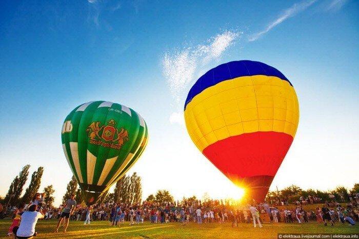 Фестиваль воздушных шаров в Василькове (40 фото)