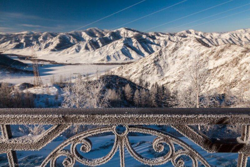 Зима на границе