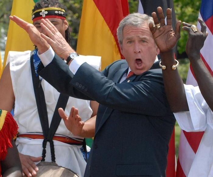 Смешные лица: Политики тоже бывают прикольными (21 фото+текст)