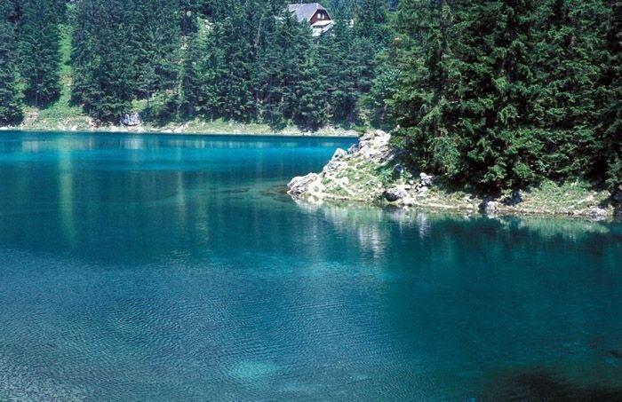 Зеленое озеро- (Grüner see) - Австрия (28 фото+видео)