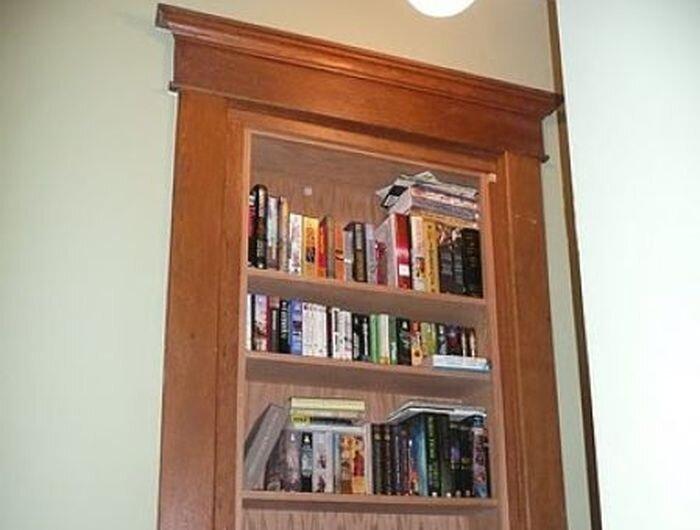 Книжный шкаф - мечта мужчины (3 фото)
