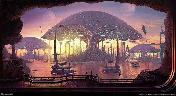 Города будущего (29 фото)