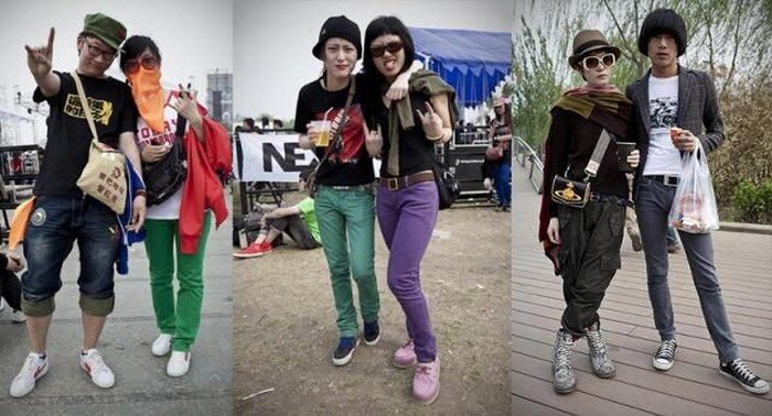 Китайские модники (23 фото)