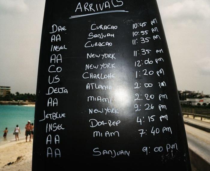 Пляж Махо (Maho) на острове Сен-Мартен. (19 фото+видео)