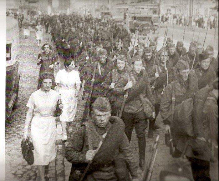 Неизвестная блокада Ленинграда.1941-44г (62 фото)