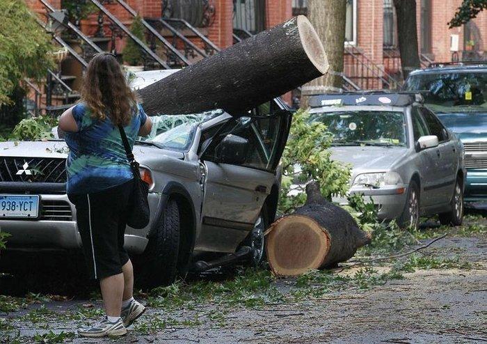 Торнадо в Нью-Йорке (17 фото+текст)