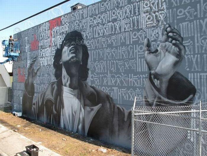 Красивые граффити (32 фото)