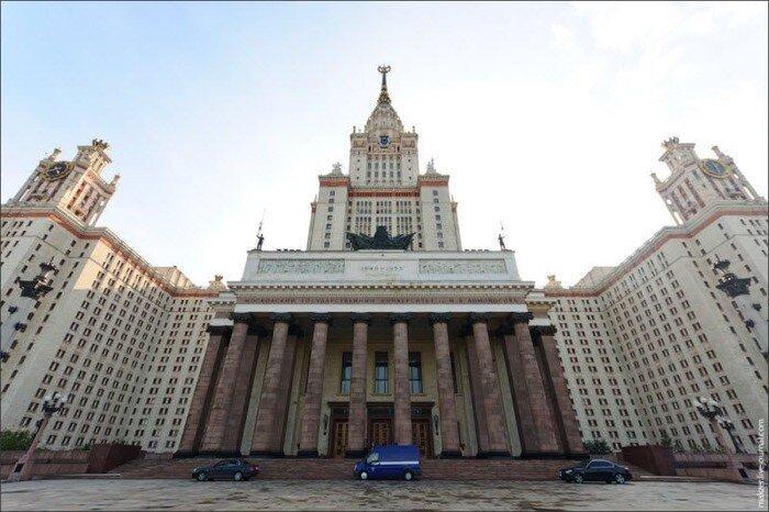Крыша МГУ (14 фото)