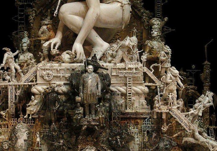 Нетривиальные скульптуры Криса Кукси (48 фото)