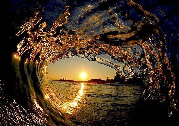 Обалденные фото океанских волн (27 фото)