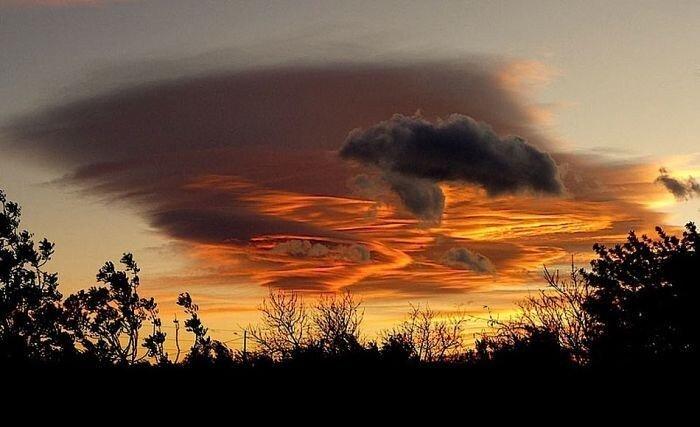 Потрясающие облака (30 фото)
