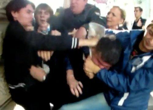 Драка у Петровки 38 (видео)