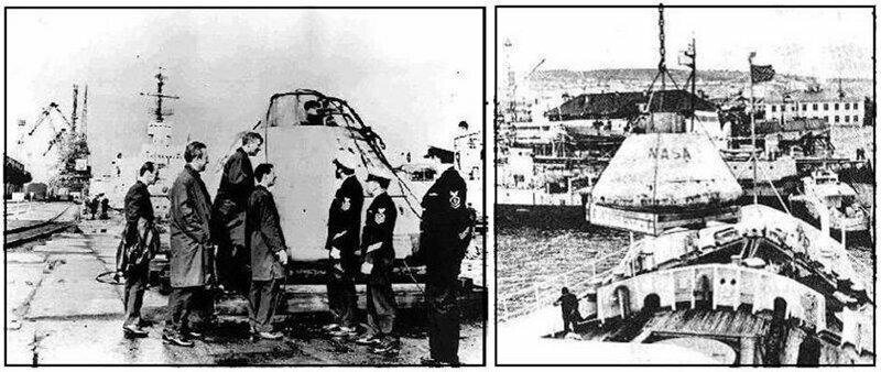 1970 г. Находка в Атлантике.  «Аполлон - 13» в советском плену