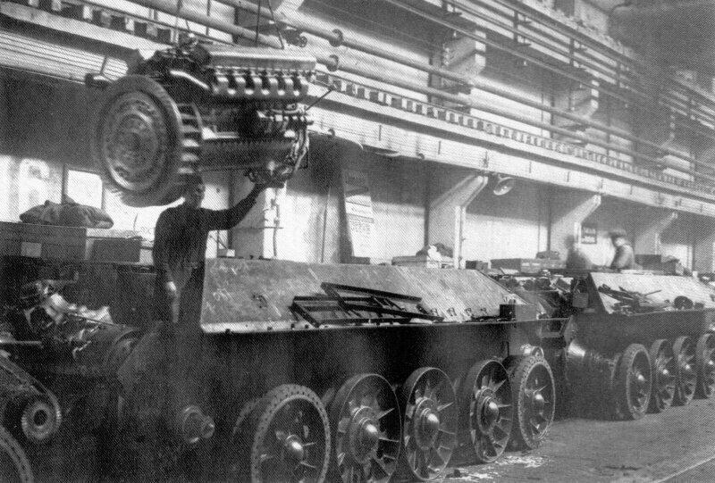 Великая Отечественная: проблемы танковых заводов