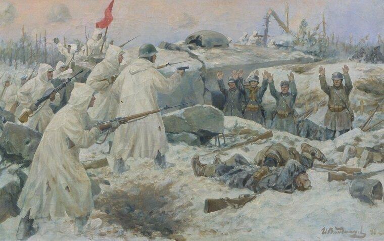 Зимняя война. Начало