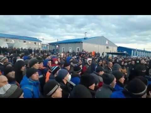 Рабочие устроили бунт на базе «Газпрома» для «Силы Сибири»
