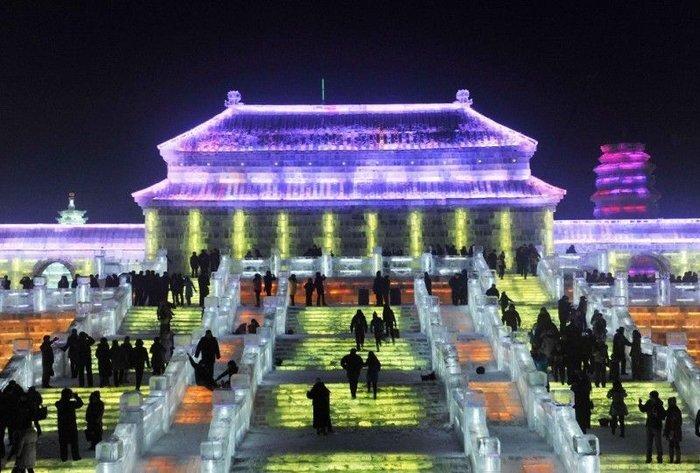 Фестиваль снега и льда в Харбине (50 фото + текст)