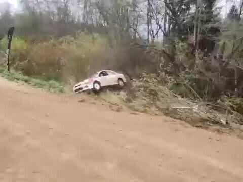 Эпичное дтп на ралли в Ижевске