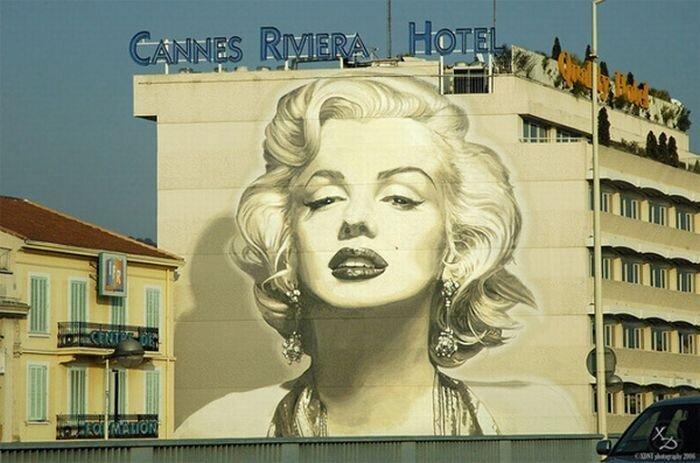 Отличные граффити со всего мира (19 фото)