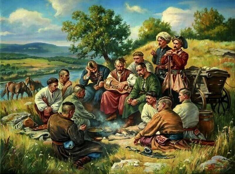 В борьбе друг с другом и с зелёным змием до XX века. Украина. Речь Посполитая