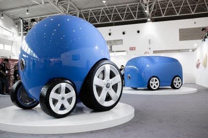 Компания Volkswagen представила новые авто для китайского рынка (10 фото)