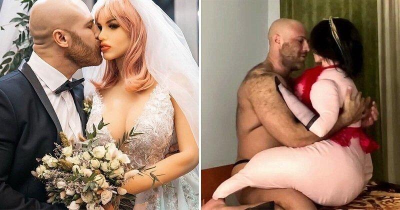 Бодибилдер Толочко развелся с секс-куклой Марго и показал новую жену (5 фото)