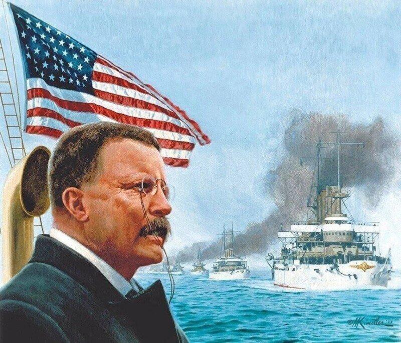 Америка заявляет о себе. Поход «Великого белого флота»