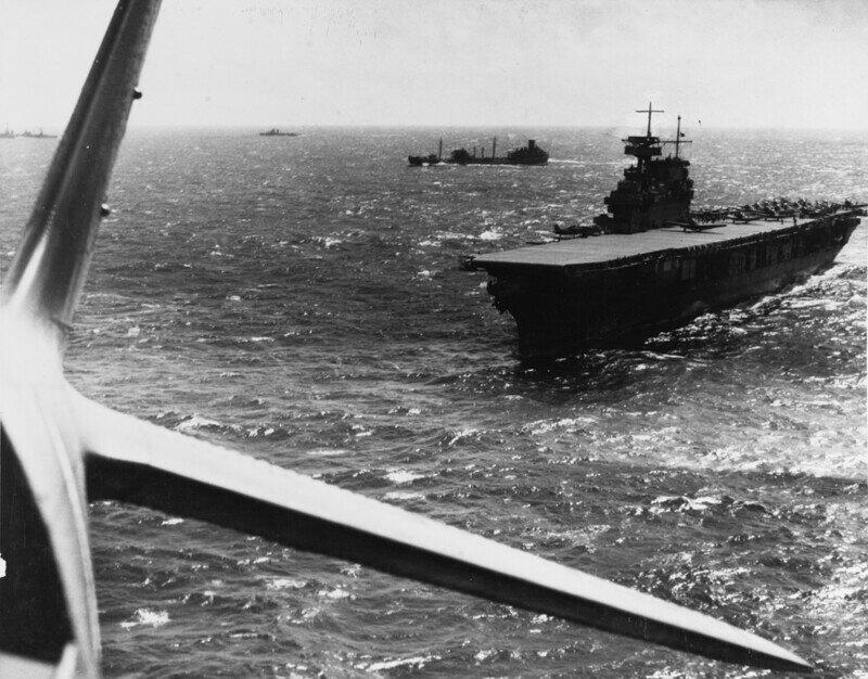 Первая дуэль авианосцев. Сражение в Коралловом море