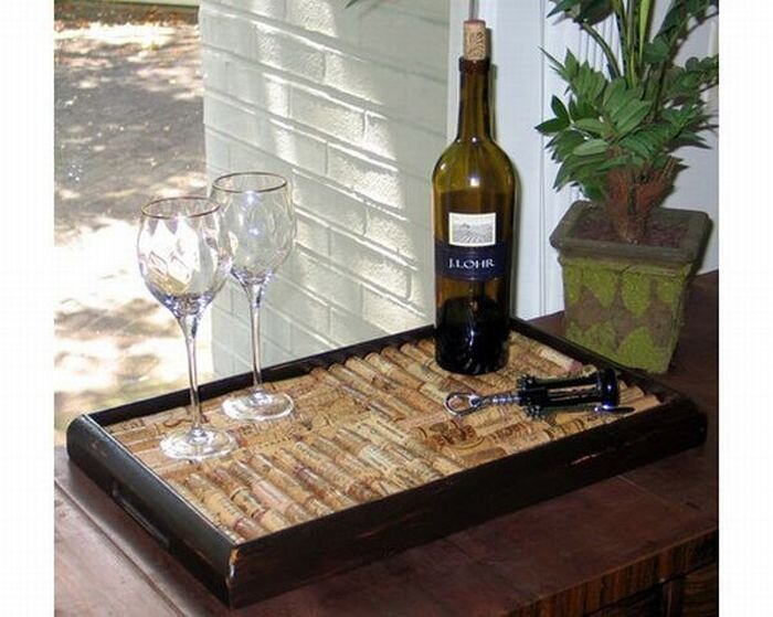 Креатив из винных пробок (67 Фото)
