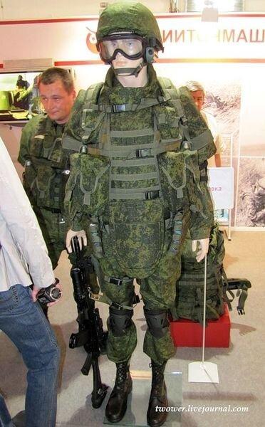 Боевой защитный комплект (13 фото)