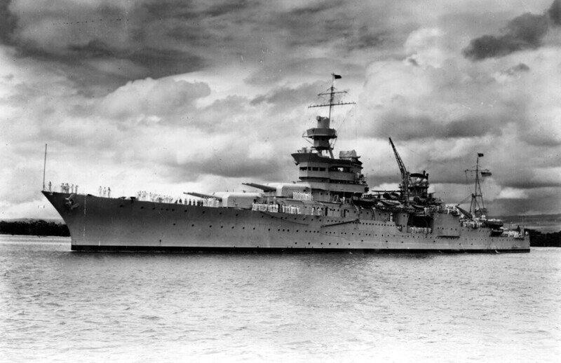 Дрейф среди плавников: гибель крейсера Indianapolis