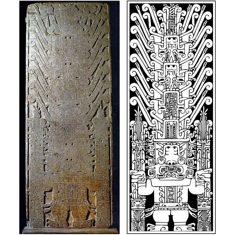 Шедевры индейского искусства: Стела Раймонди