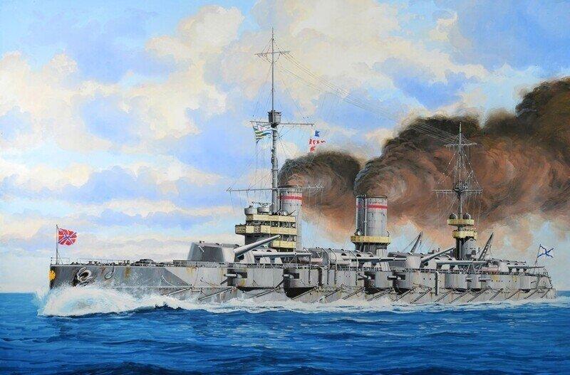 Кратко о линкорах Российского Императорского Флота