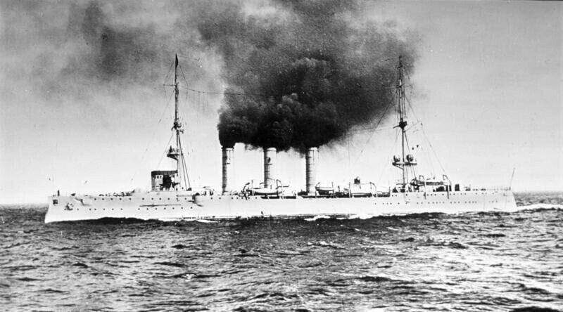 Рейдерство крейсера Emden в Индийском океане