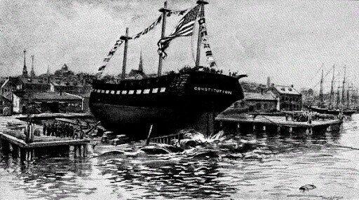 Парусный фрегат с двухвековой историей. USS Constitution
